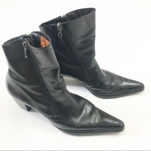 Harley-Davidson Dual Zipper Black Boot